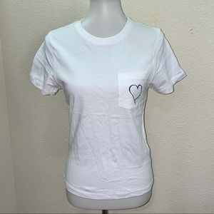NWOT Prince Peter Collection Heart Pocket T-Shirt
